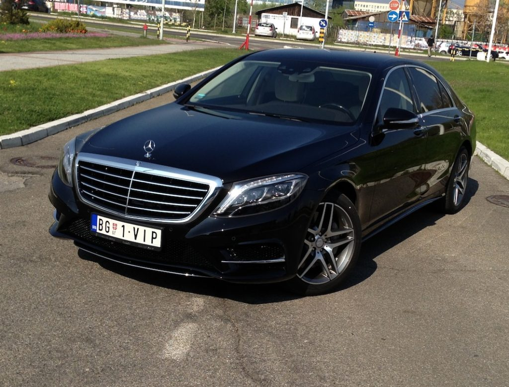 Chauffeur service with S class in Belgrade