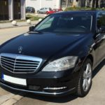 Limo service in Belgrade with S class