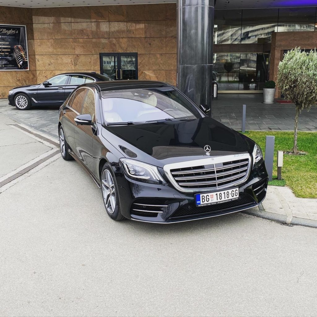 Mercedes S class rental in Belgrade