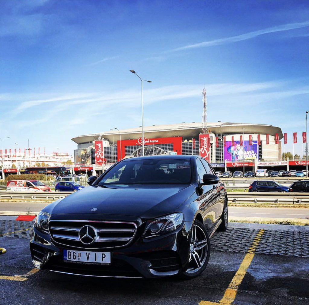 E class rental in Belgrade